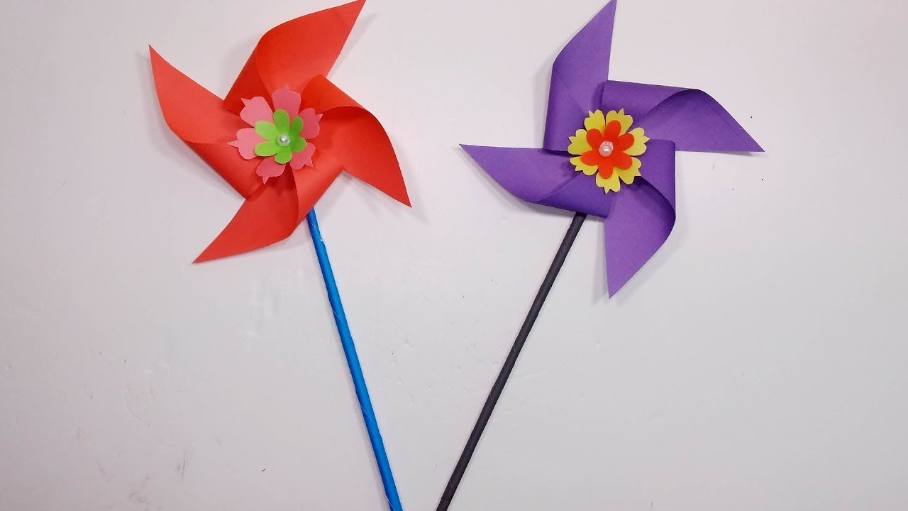 How to Make Easy & Simple Paper Flower!! Homemade Simple Craft Ideas ...