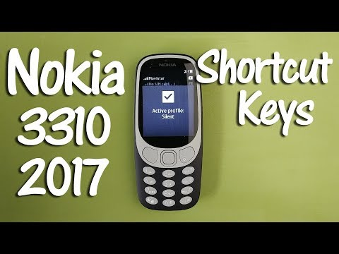 Nokia 3310 2017 Tips and Tricks Shortcut Keys