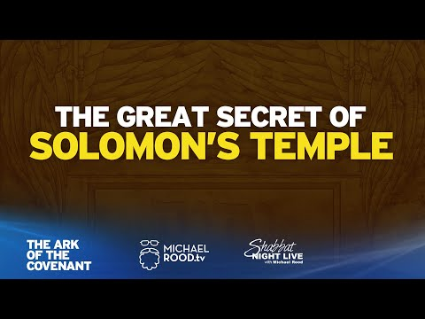 The Great Secret of Solomon's Temple (Ark of the Covenant)