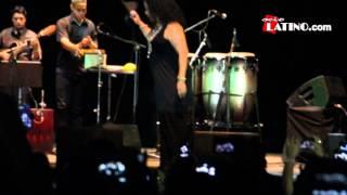 Eva Ayllón en Madrid. Más de mil peruanos celebraron Fiestas Patrias Peruanas 2014