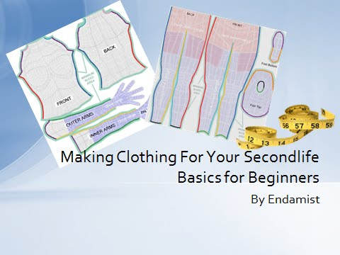 Making Clothing for Secondlife For Beginners