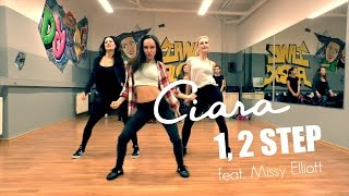 1, 2 STEP ♥ CIARA feat. Missy Elliott | Jazz Funk Dance Class | Choreography TanzAlex
