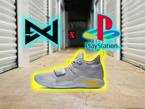 "Nike PG 2.5 ""PlayStation"" Wolf Grey *REVIEW* 
