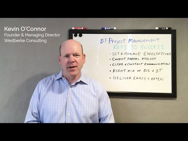Video: Keys to Success for Business Intelligence Project Management