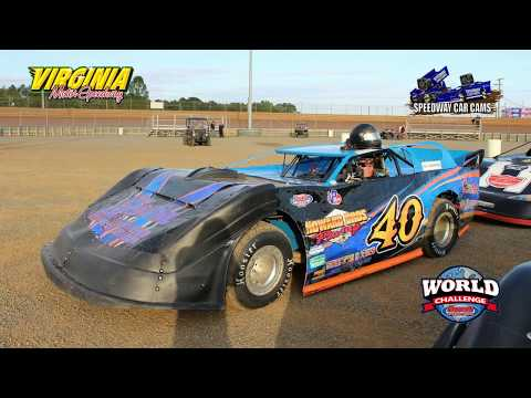 #40 Brent Bordeaux - Crate Late Model - 9-15-17 Virginia Motor Speedway - In Car Camera
