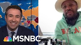 Michelle Obama Joins DJ D-Nice To Rally Voters And 'Party With A Purpose' During Pandemic | MSNBC
