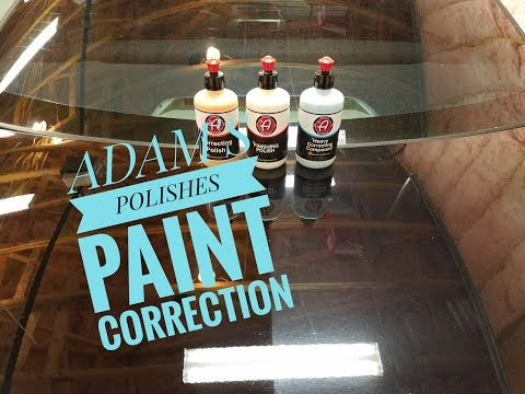 ADAMS POLISHES HEAVY CORRECTING COMPOUND | CORRECTING POLISH | FINISHING POLISH | PAINT CORRECTION