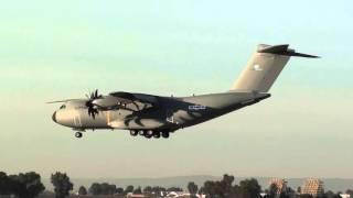 Luftwaffe Airbus A400M Atlas (A4M030) Landing Seville LEZL