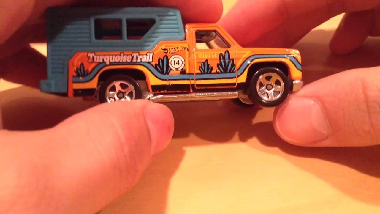 Hot Wheels Backwoods Bomb - 2015 HW Road Trippin': Road 14 Turquoise Trail (Walmart Exclusive)