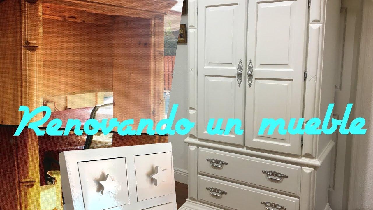 Diy renueva tus muebles como pintar un mueble viejo youtube - Muebles antiguos restaurados ...