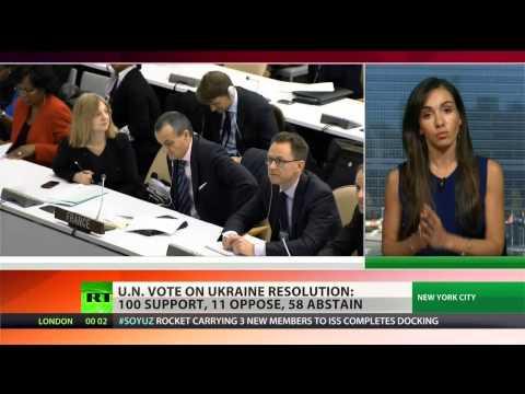 UN votes to condemn Crimean referendum