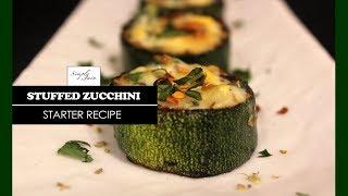Stuffed Zucchini | How To Make Zucchini Dish | Appetizer | Simply Jain