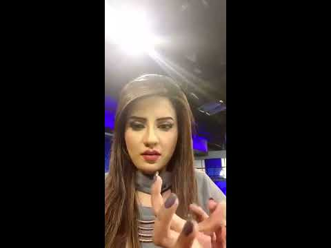 Pakistan No.1 News Anchor Kiran Naz was sharing her routine with her friends..