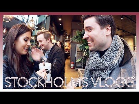 ÅKER TILL STOCKHOLM! 😃 | Vlogg