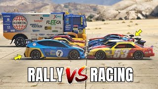 GTA 5 ONLINE - RALLY CARS VS RACING CARS (WHICH IS FASTEST?)