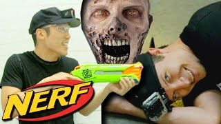 NERF Funny Zombie Infection Game