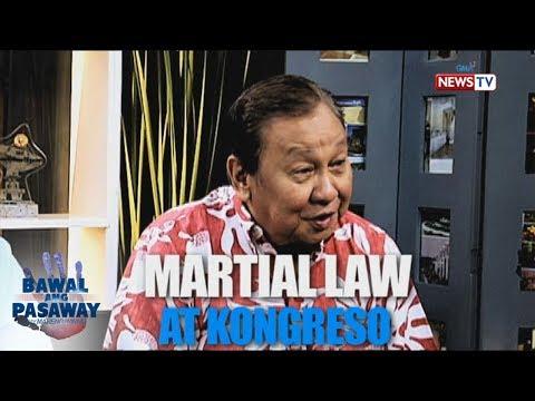 Bawal ang Pasaway: Martial Law at Kongreso