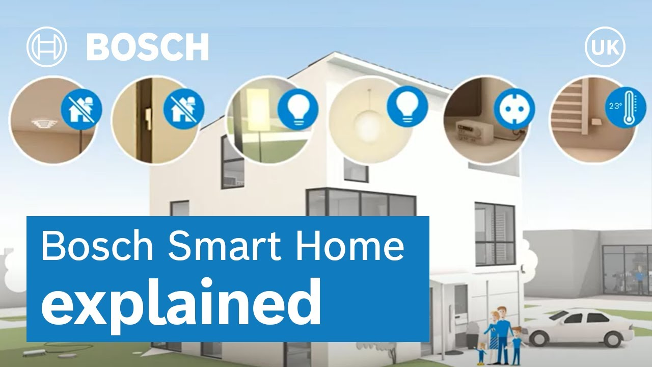 home automation with smart scenarios bosch smart home en youtube. Black Bedroom Furniture Sets. Home Design Ideas
