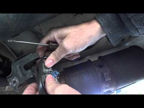 Honda 2002 CRV Ex AWD Cat Oxigen sensor replacement