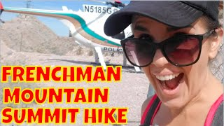Frenchman Mountain Summit Hike And the Weird Houses of East Las Vegas