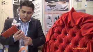 видео Расчет количества ткани для обивки мебели