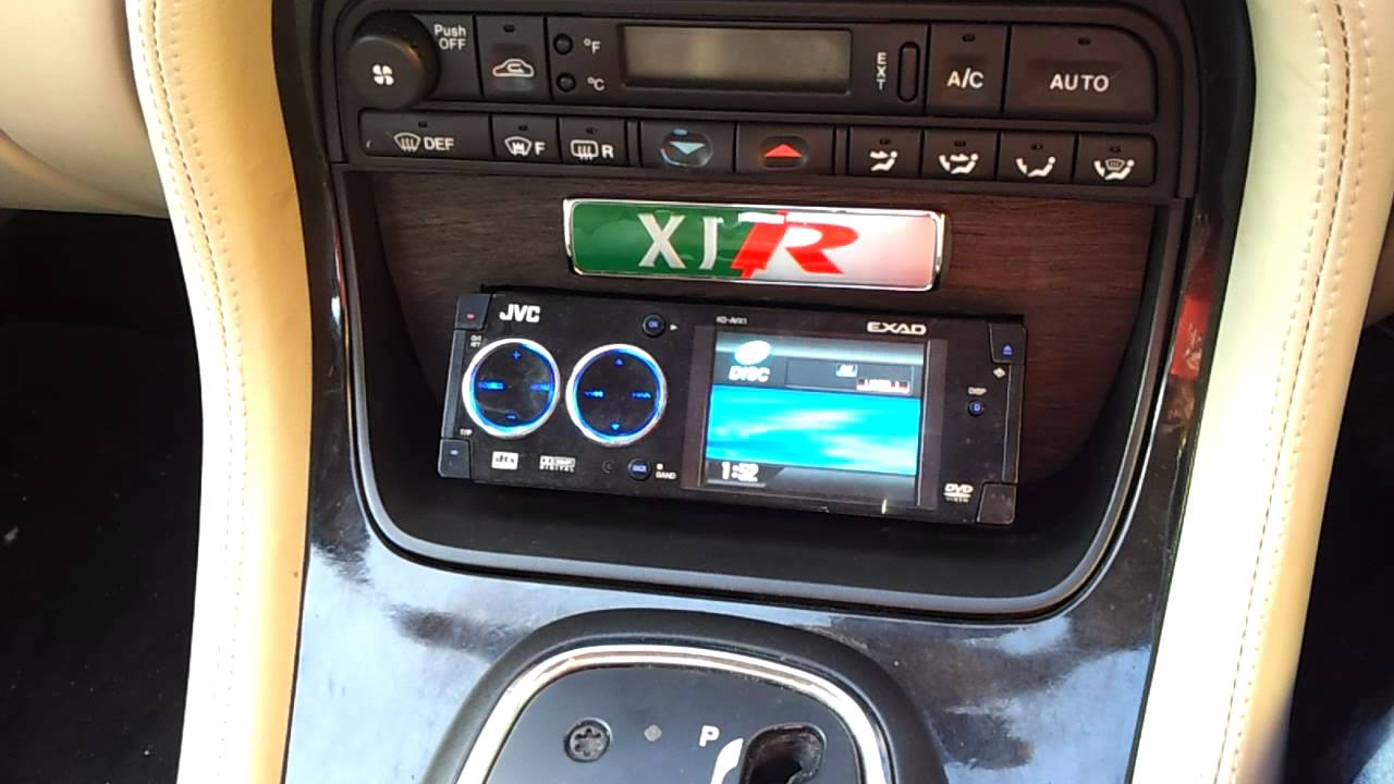 Xjr Aftermarket Stereo Fitted
