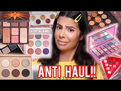 HUGE ANTI HAUL | MAKEUP I WILL NOT BE BUYING! thumbnail
