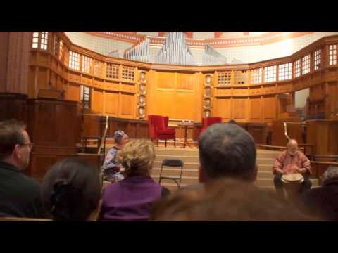 Ficklin Media Diane Nash at Yale MLK Drum Circle Opening