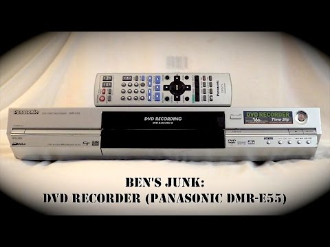 Oddity Archive: Episode 112.5 – Ben's Junk: DVD Recorder (Panasonic DMR-E55)