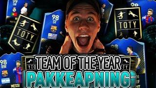TEAM OF THE YEAR PAKKEÅPNING!! WALKOUT I EN PAKKE!! 10 000 FIFA POINTS PÅ FIFA 17!!