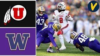 #9 Utah vs Washington Highlights | Week 10 | College Football 2019