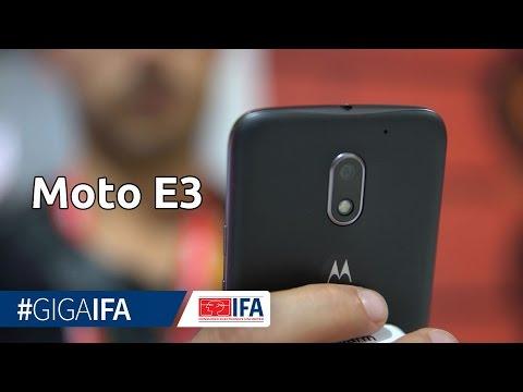 Moto E3 im Hands-On: Preiswertes Smartphone im ersten Eindruck - IFA 2016 - GIGA.DE