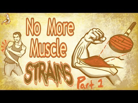 Illustrated guide! Healing & preventing Muscle Strains & injury Part 1