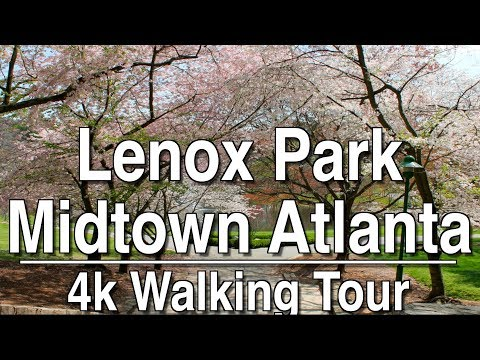 Walking Tour Lenox Park Atlanta | 4K Dji Osmo