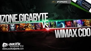pcgph september e finals izone gigabyte vs wimax cdo