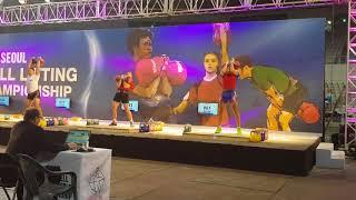 Чемпионат мира 2017 Сеул Марков Иван толчок гирь по 32 кг 161 раз
