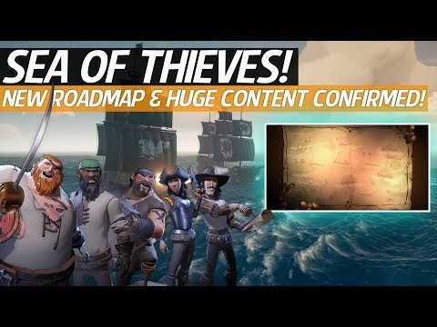 Sea Of Thieves News - New Content Roadmap!, Free DLC & Content, New Ships, Locations, Items & More!