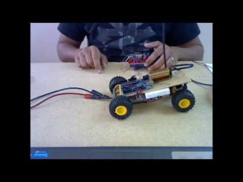Project: Ardu-Bot-Tom RF Controlled Robot