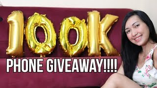 100k SUB'S CELLPHONE GIVEAWAY !!!!