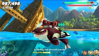 Hungry Shark World Killer Whale Android Gameplay #1
