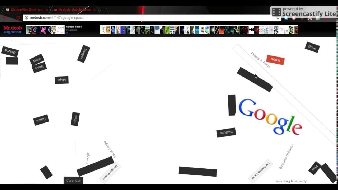 Images of Mr Doob Google Space - #rock-cafe