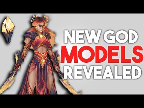 SMITE Pele & Baron Samedi God Models Revealed & Roles Confirmed!