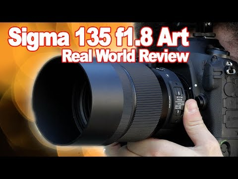 SIGMA 135mm f1.8 ART Real World Review: Best Portrait Photog