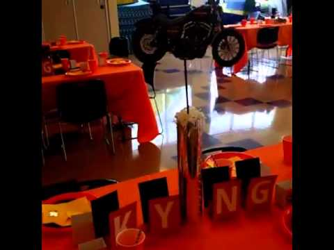 Harley Davidson Baby Shower