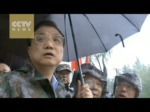 Premier Li Keqiang inspects flood disaster areas