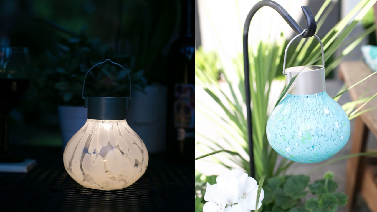 Allsop Home Garden Tea Lantern unboxing and setup YouTube