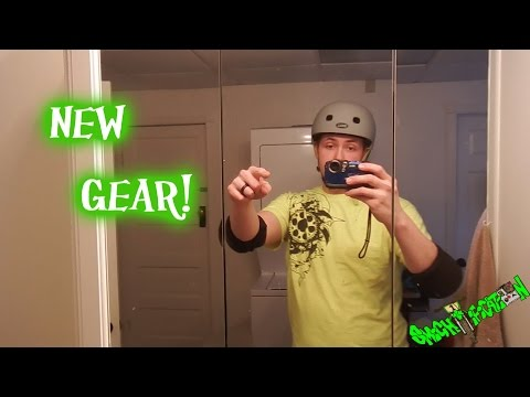 Unboxing New BMX gear! Helmet and pads