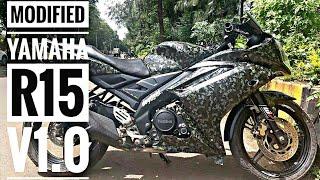 Yamaha R15 V2 White Modified - DanaAdvisor com