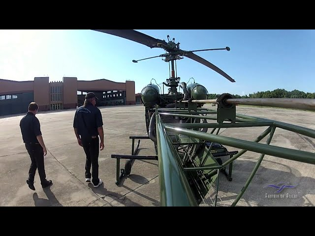 Bell 47G - Flight to Juvenile Residence Facility