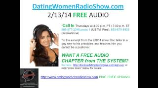 Dating Women Radio Show - Do Not Be A Pushover